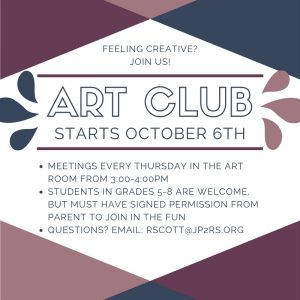 Art After-school Club Begins Meeting