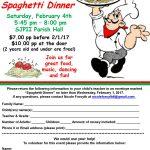 Spaghetti Dinner w/DJ